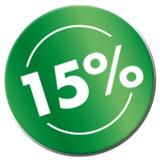 15 Prozent