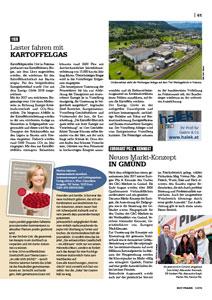 """""""Neues Markt-Konzept in Gmünd"""""""