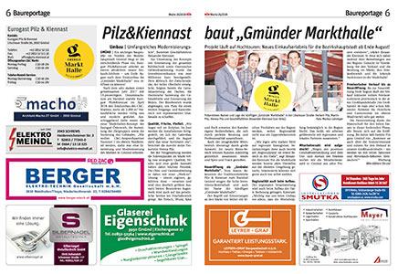 """Pilz&Kiennast baut """"Gmünder Markthalle"""""""