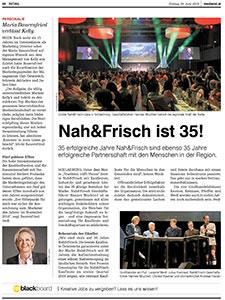 """""""Nah&Frisch ist 35"""""""