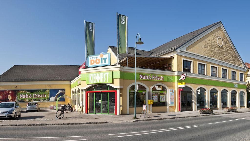 Nah&Frisch Kiennast - Ihr Nahversorger in Gars. © Reinhard Podolsky/mediadesign