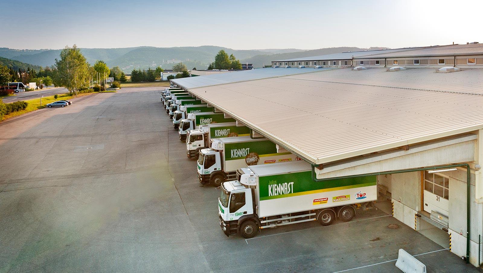 Logistik von Kiennast. © Reinhard Podolsky/mediadesign