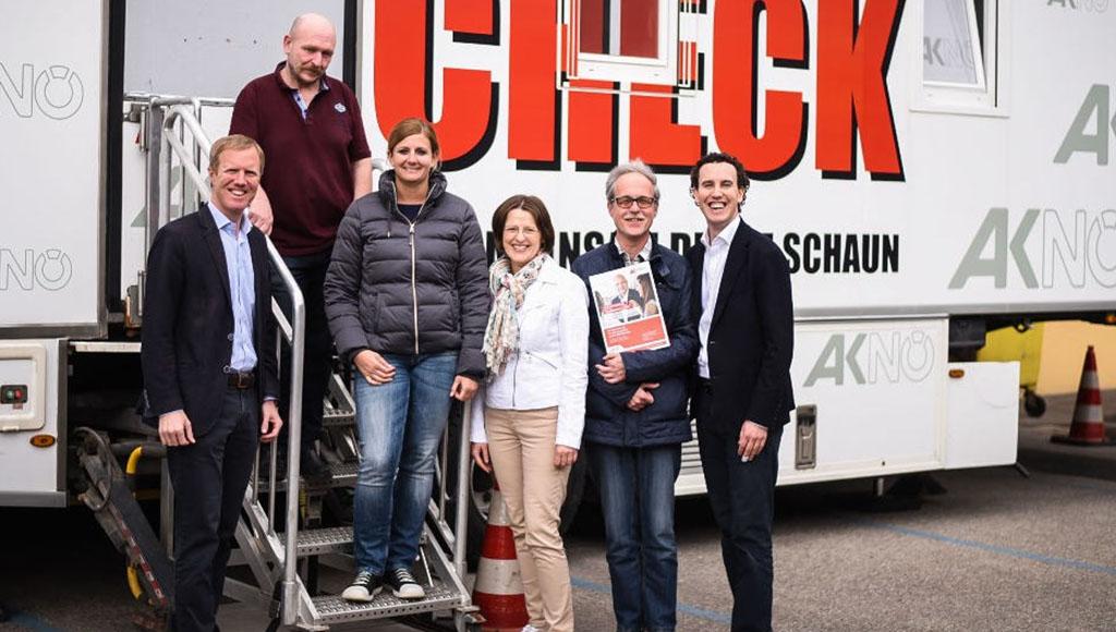80 MitarbeiterInnen nahmen das Angebot des AK-Gesundheitschecks wahr. © Kiennast