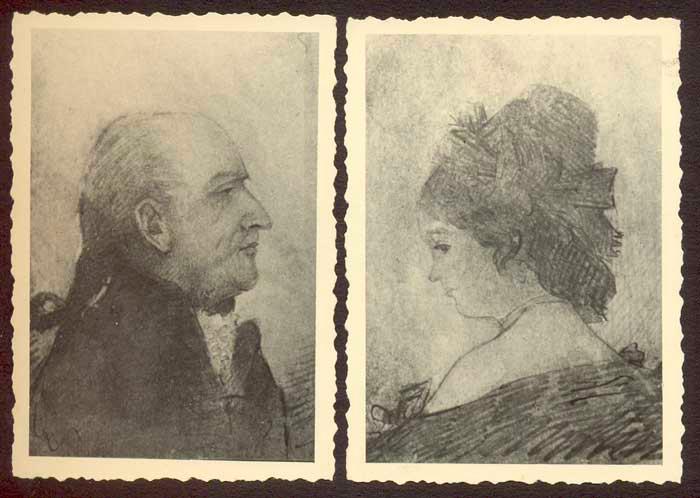 Ignatz Franz Kiennast und seine Frau Anna Maria