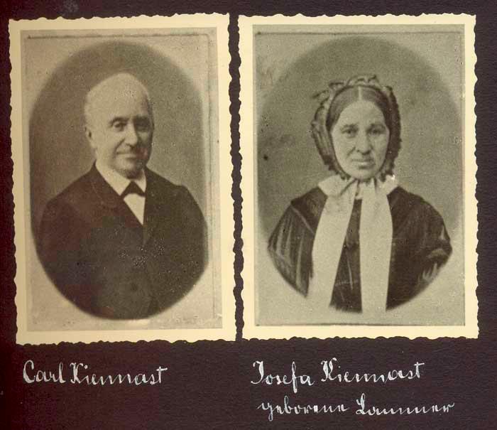 Carl und Josefa Kiennast
