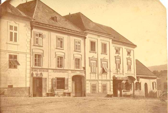 1853 - Geschäft