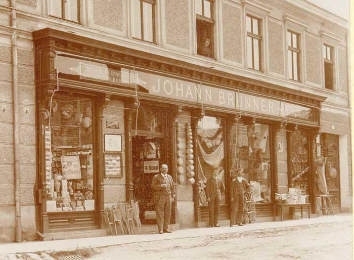 1920 - Kaufhaus Johann Brunner