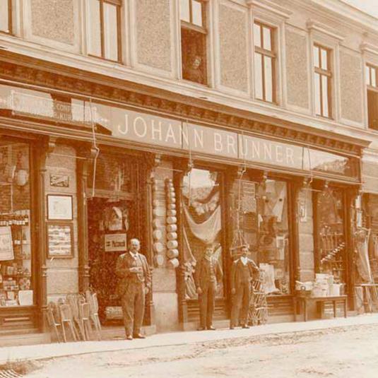 Johann Brunner Geschäft