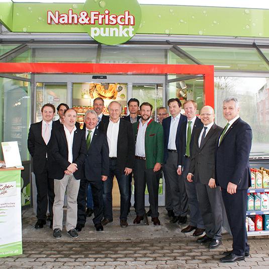 Eröffnung Nah&Frisch punkt Wels