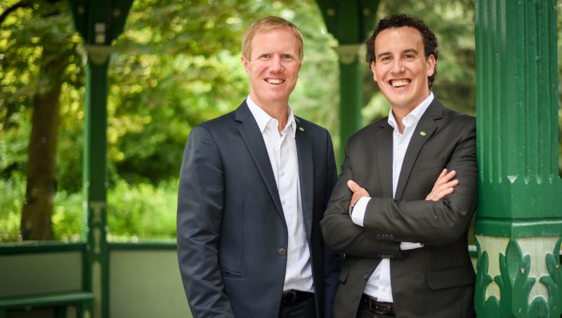 v.li.: Mag. Julius und Mag. Alexander Kiennast blicken positiv in das Jahr 2021