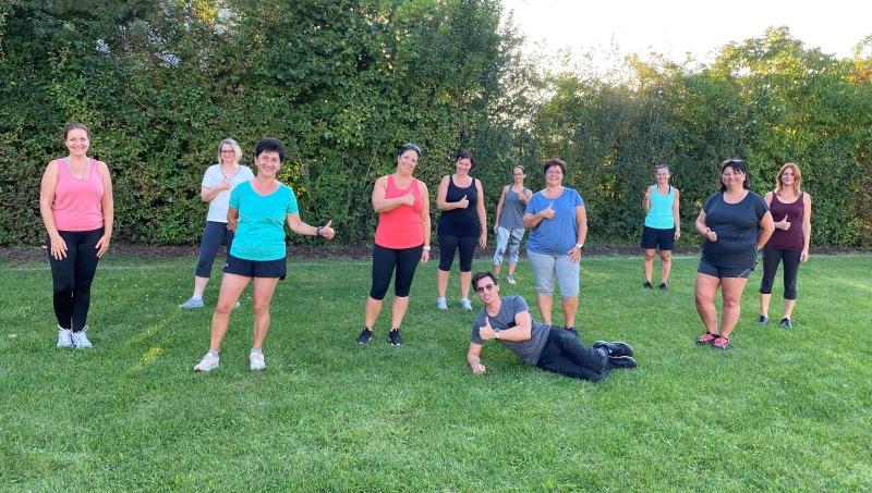 Unsere Rücken-Fit-Gruppe startet aktiv in den Herbst!