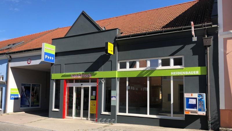 Die Außenansicht vom neuen Nah&Frisch Markt in Würmla.