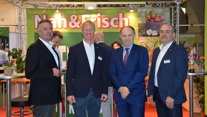 v.l.: VL Bernhard Heiss, Mag. Julius Kiennast, Vzbgm. Mag. Josef Kirbes, Franz Fuchs